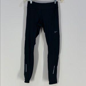 Nike Running Black Leggings Size Small Dri-Fit